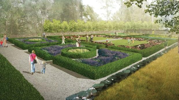 Jay Heritage Center garden