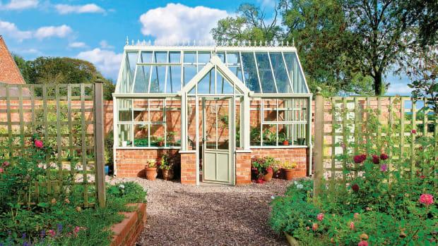 Victorian Villa greenhouse