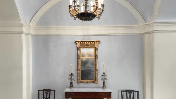Decatur house foyer