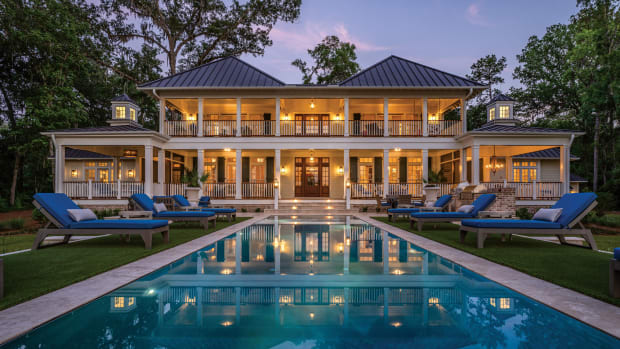 wrap-around porch, lowcountry house, Susan Rochelle