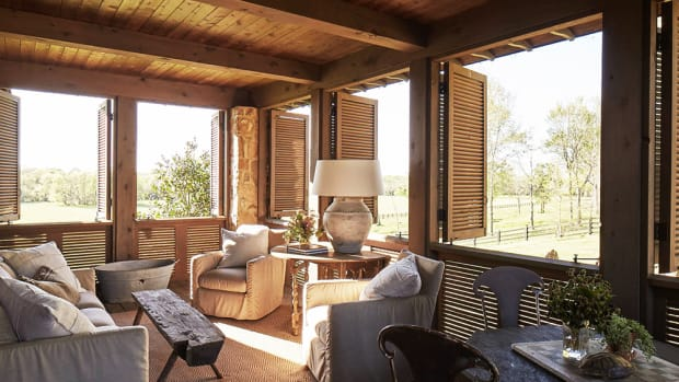 Southern Farmhouse, Jeffery Dungan Architects, Palladio Award