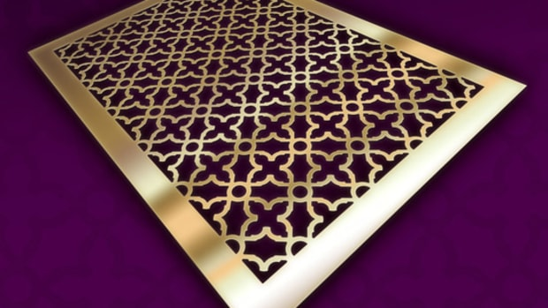 decorative metal grille