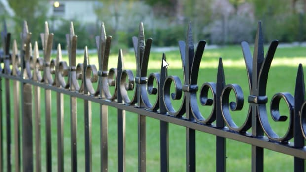 bronze and steel fence, Wiemann Metalcraft