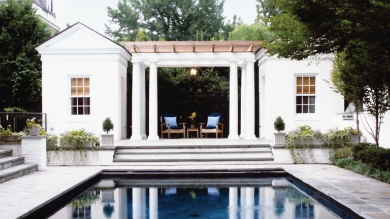 Airy Addition: A New Poolhouse