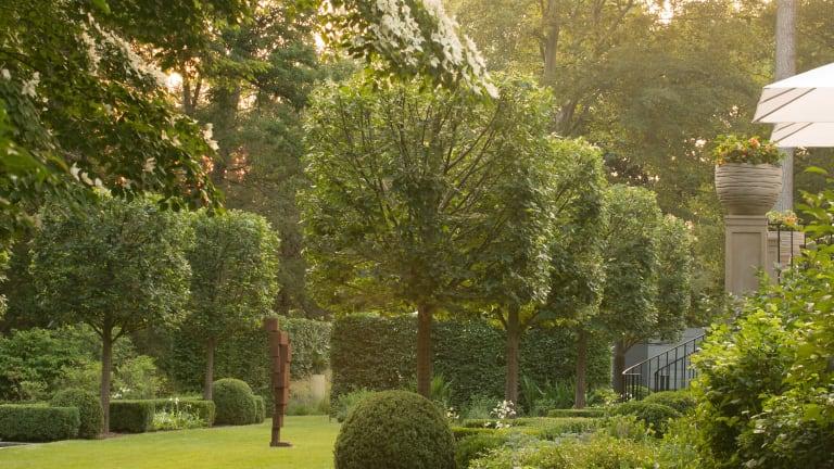 Doyle Herman Design Associates' Formal Landscape for a Twenties Estate