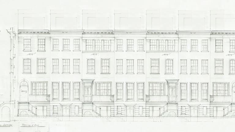 Fairfax & Sammons Architects' Traditional-Style Townhouses