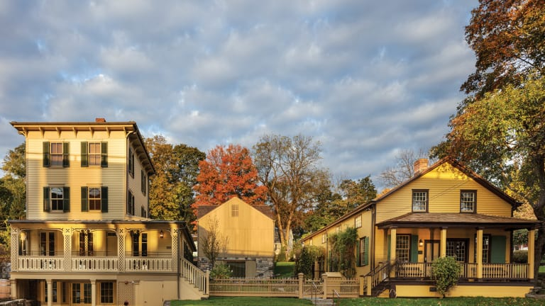David Scott Parker Architects: Greenwich Historical Society Reimagined Campus Master Plan