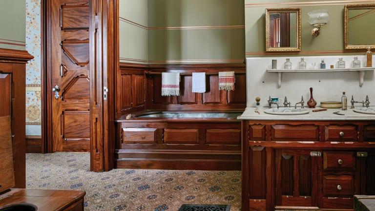 John Canning & Co.: Mark Twain House & Museum, Mahogany Suite