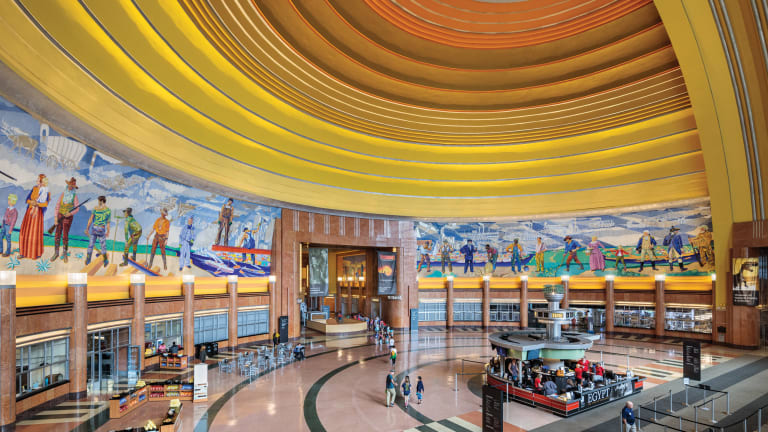 John G. Waite Associates, Architects and GBBN: Cincinnati Union Terminal