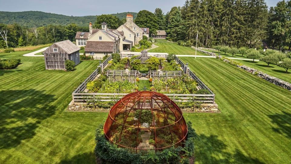 Haver & Skolnick Architects' Classic Kitchen Garden