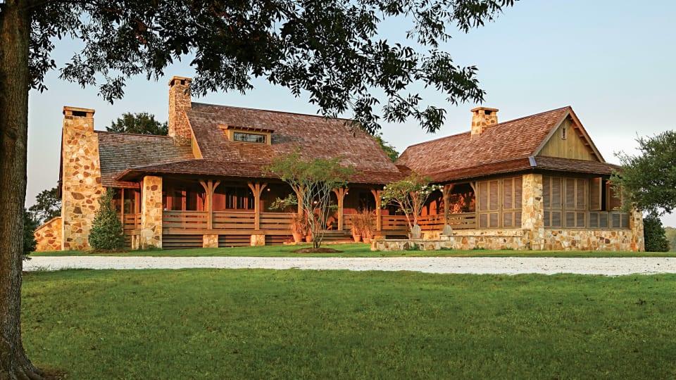 Jeffrey Dungan Architects: Southern Farmhouse