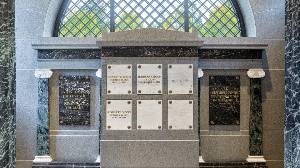 Eric Inman Daum Architect Creates a Private Mausoleum