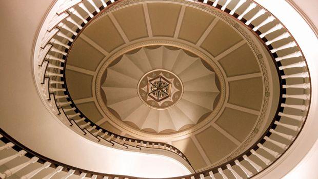 Cricket Hill stairway Hamady Architects