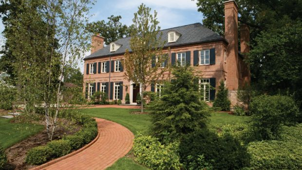 french manor home