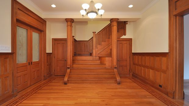 staircase woodwork