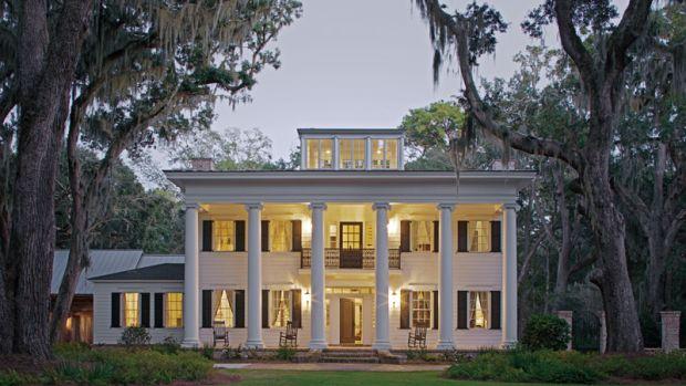 home built by Harrison Design Associates