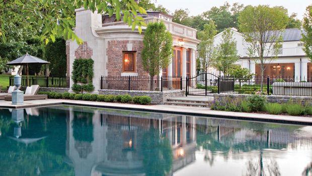 garden folly pool side