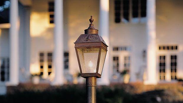 lantern brass light gallery