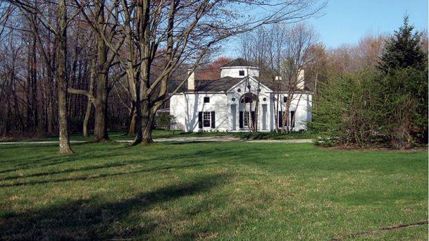 villa rotonda style house