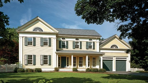 The Colonial Revival Interior Classic Homes Design And