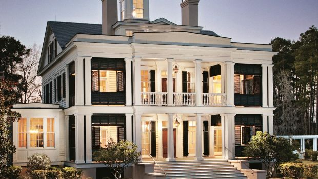 Greek Revival Home with Southern Charm