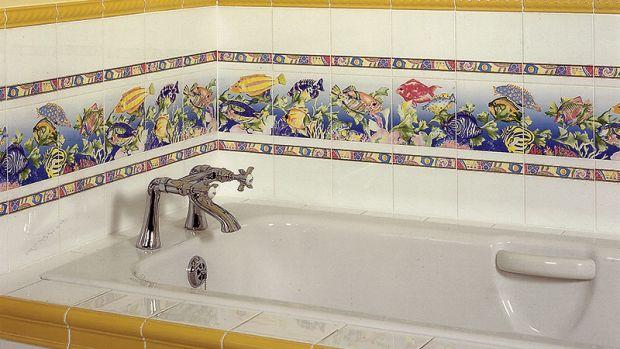 historic bathroom tile
