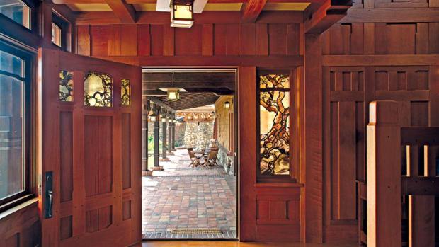 Front door, John Malick, A Lyric Architecture