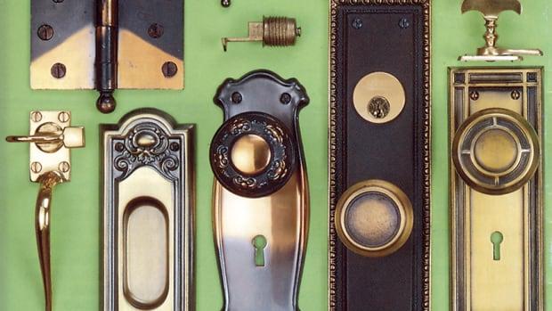 salvaged hardware