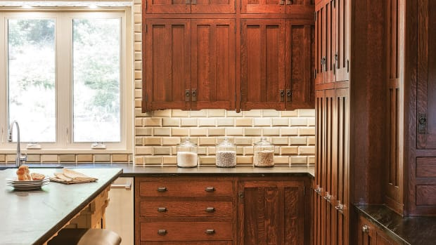 Crown Point offers a variety of design styles, including the Arts and Crafts style.