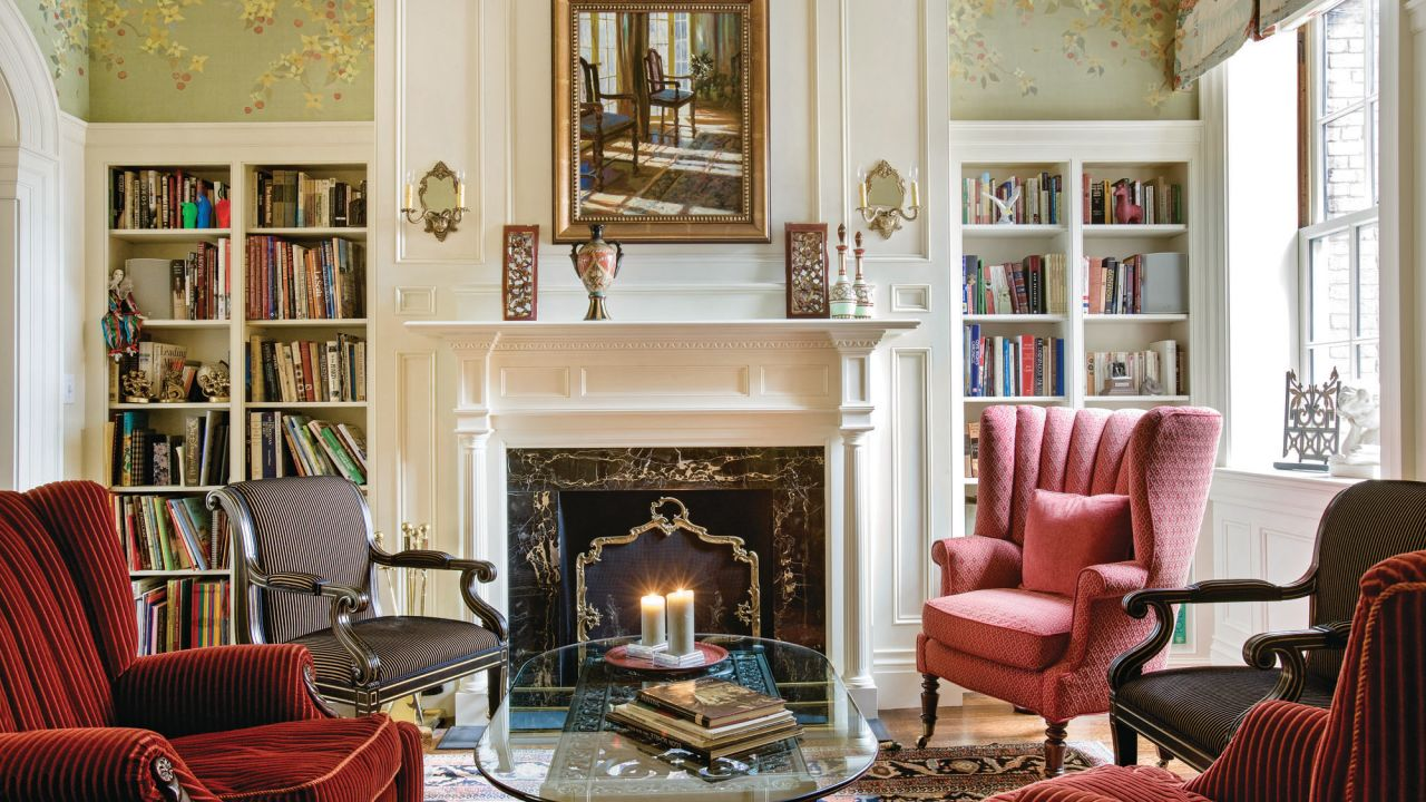 The history of federal style period homes magazine - Federal style interior decorating ...