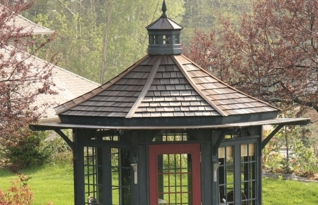 The Many Sides of Period Gazebos