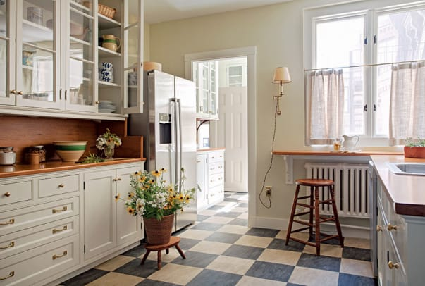 Eco-Friendly Kitchen Surfaces - Period Homes