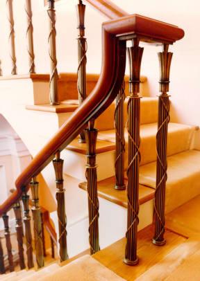 cast bronze railing - 5
