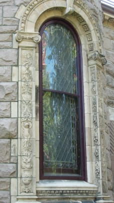 Allied Window Millicent_Library-Bowed-Circle_top_-Fairhaven,_MA_-_3