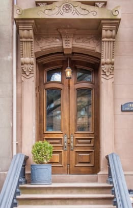 1_brownstone rowhouse townhouse replacement door historic reproduction italianate park slope landmark brooklyn nyc