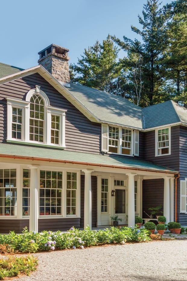 Classically Designed Lakeside Home