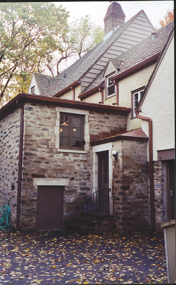 Addition to a 1930s Tudor Revival House