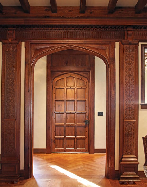 Woodwork: Creating A Tudor Interior