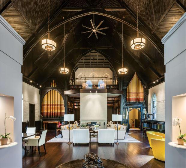 John Milner Architects: Gothic Revival Chapel Residence