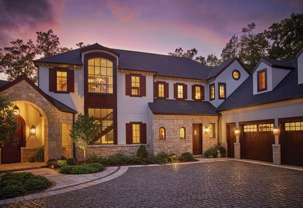 Symmetry & Style in a Classically Designed New Home