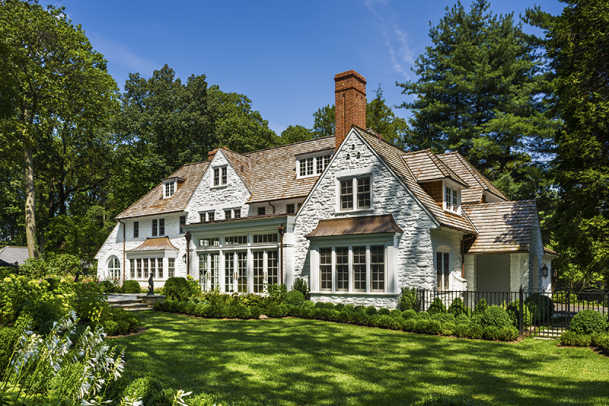 Adding on to an english arts and crafts house period for Arts and crafts home magazine