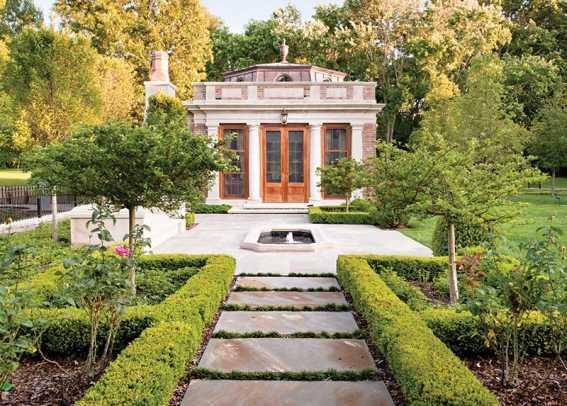A Traditional Garden Folly For A Georgian Colonial House - Period