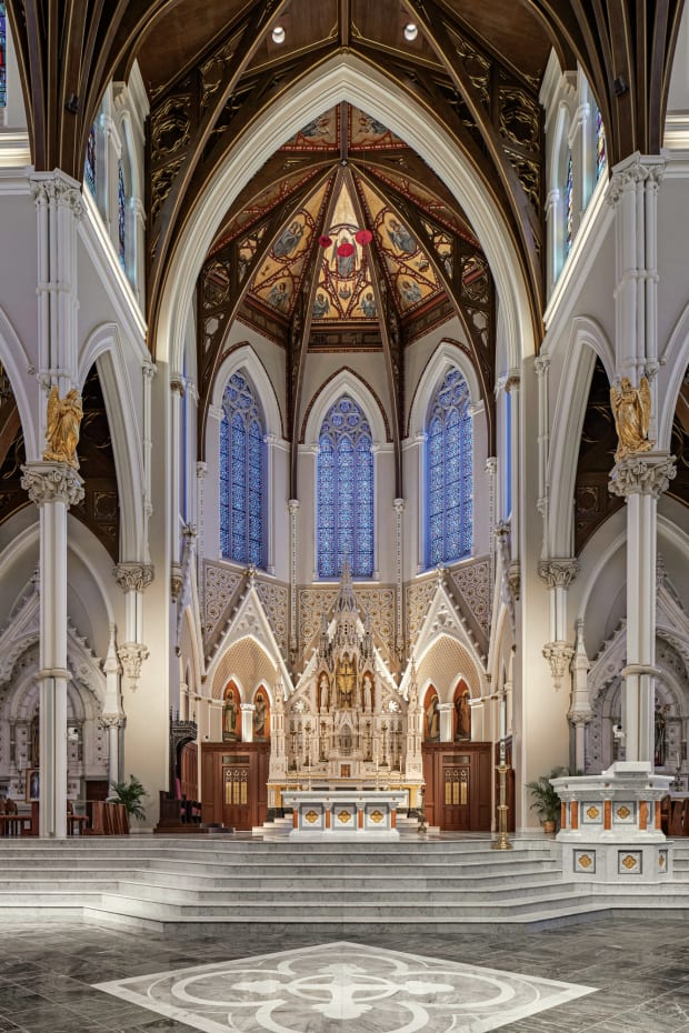 Elkus Manfredi Architects Updates a Gothic Revival Cathedral