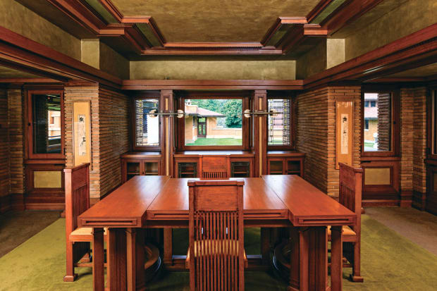 Restoring Frank Lloyd Wright S Darwin D Martin House