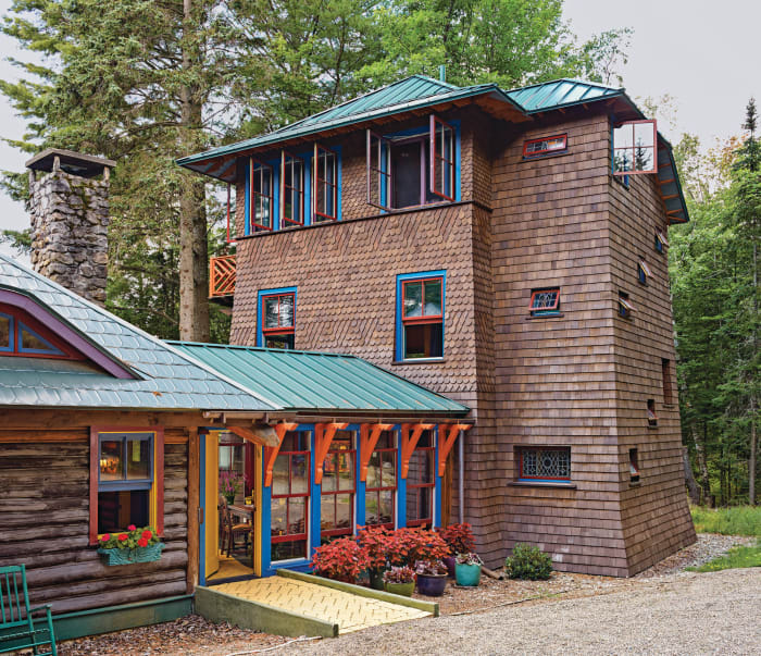 Adirondack architecture period homes for Adirondack cabin builders