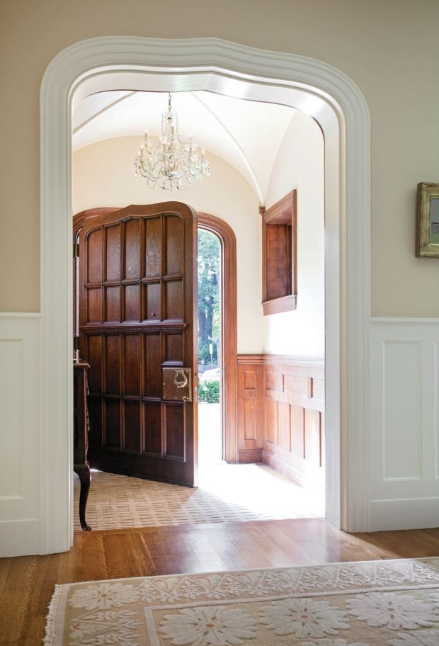 Creating A Period Entryway Classic Homes Design And