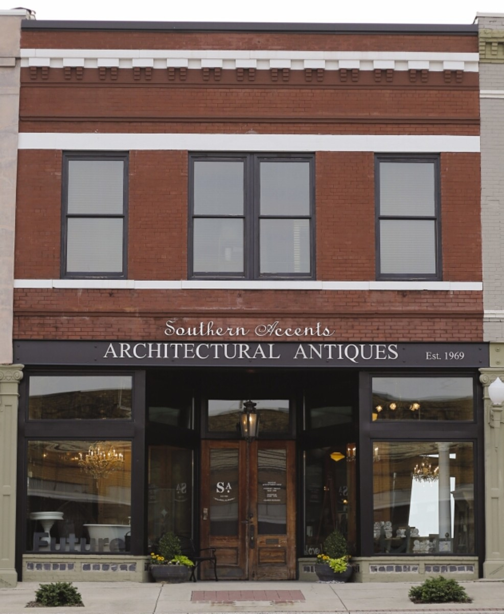 2016 Palladio Awards New Mediterranean Style Traditional: Southern Accents Architectural Antiques