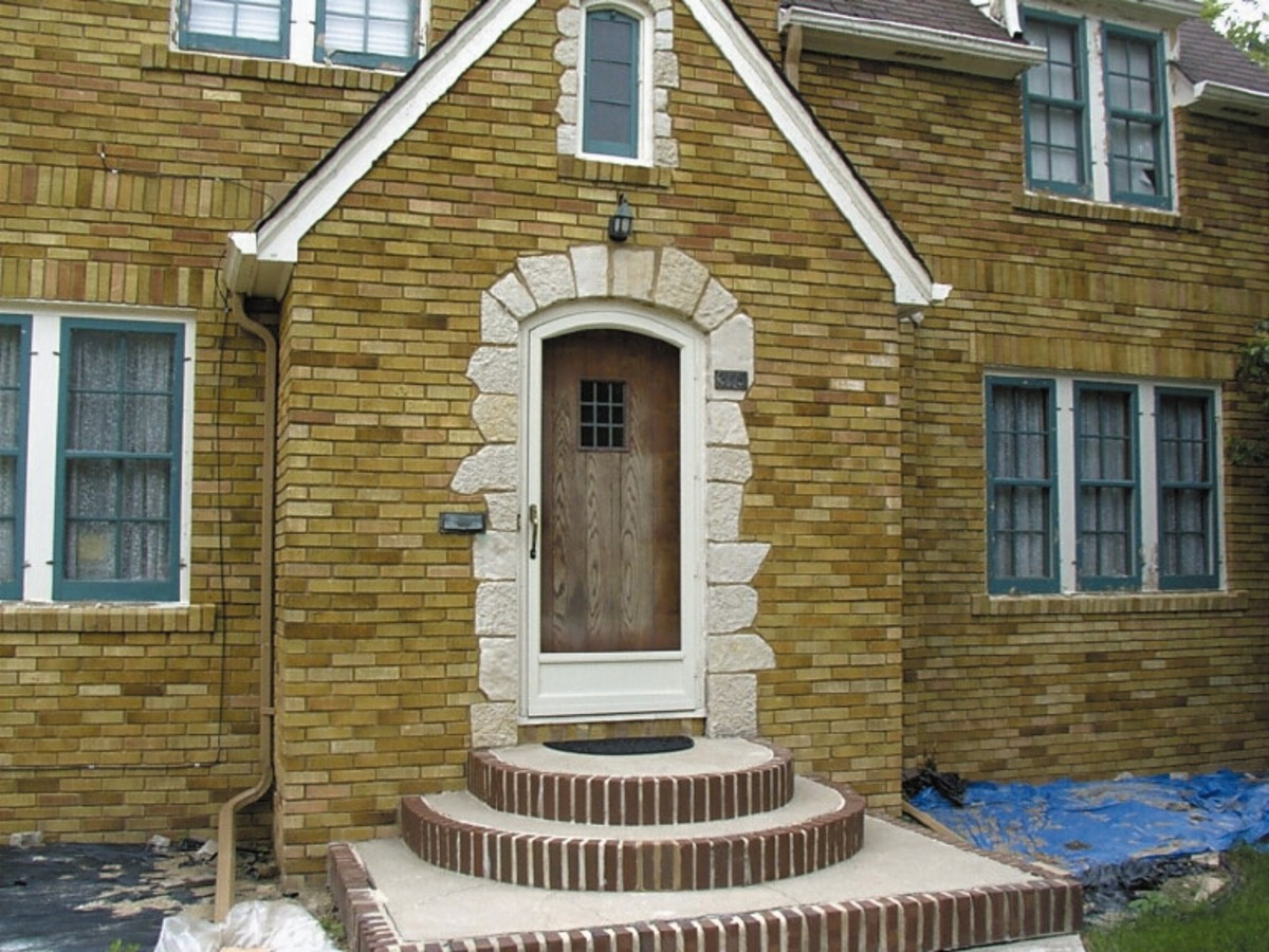 Arch Angle Window Door Period Homes