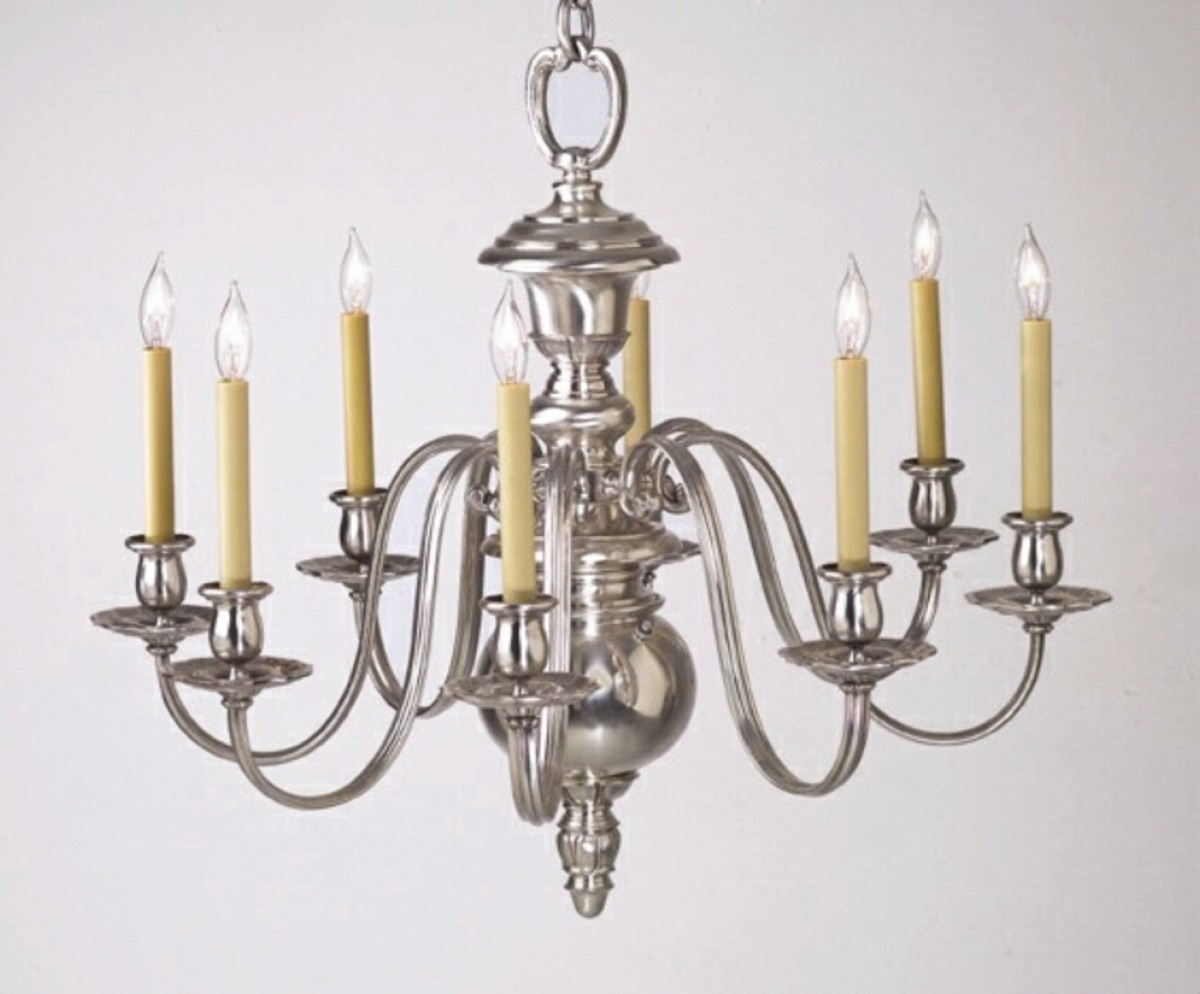 B&B Restored Silver chandelier sm