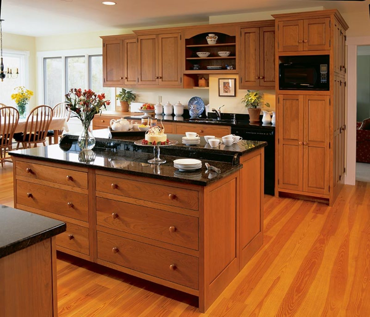 The Classic: Traditional Kitchen Cabinets - Classic Homes Design and ...